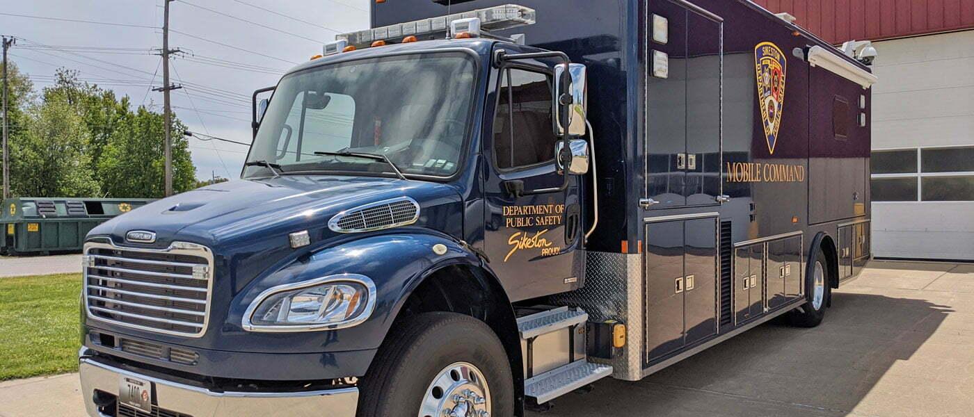 Sikeston mobile command center